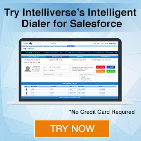 Try Intelliverse's Intelligent Dialer for Salesforce
