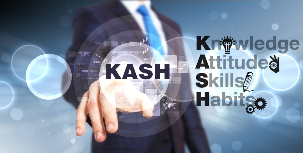 Knowledge, Attitude, Skill, and Habits (KASH) – matters most for success in sales