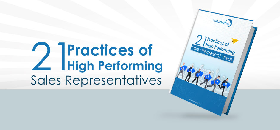 21 Practices of High Performing Sales Representatives E-book